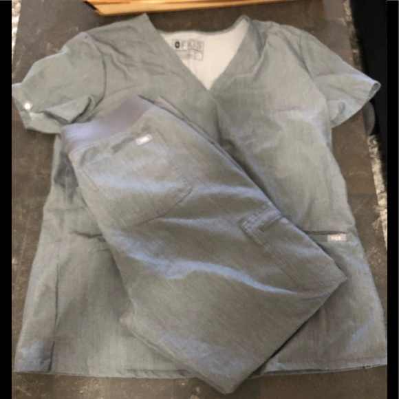 f0fa3150d89 Figs Other | Scrub Set In Gray Gorgeous Comfy | Poshmark